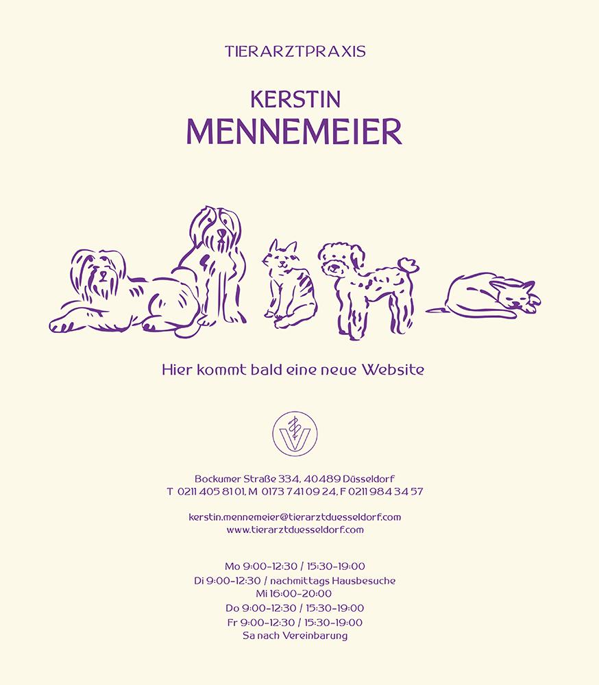 Tierarztpraxis Kerstin Mennemeier - Bockumer Straße 334, 40489 Düsseldorf